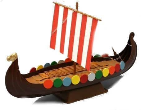 Barco Viking Kit P/ Montar Comp.: 395mm