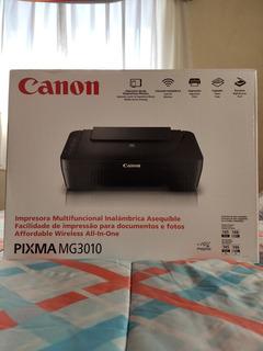 Impresora A Color Multifunción Canon Pixma Mg3010 Con Wi-fi