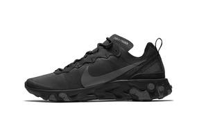Zapatos Nike Element React 55 All Black
