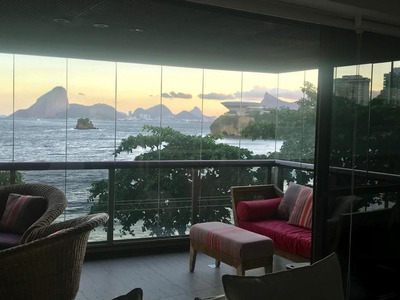 Apartamento Em Ingá, Niterói/rj De 280m² 4 Quartos À Venda Por R$ 2.700.000,00 - Ap217479