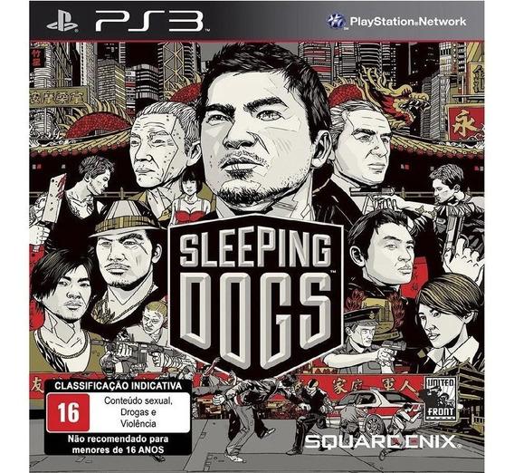 Sleeping Dogs Ps3 Codigo Psn Envio Ja Promoção