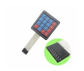 Teclado Membrana Matricial 4 X 4 16 Teclas Arduino