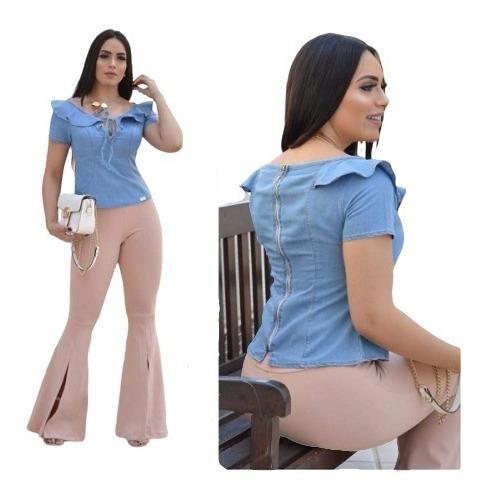 Blusas Jeans, Blusas, Blusinhas, Blusinhas De Jeans