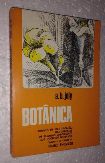 Botânica Chaves De Identificação - A. B. Joly