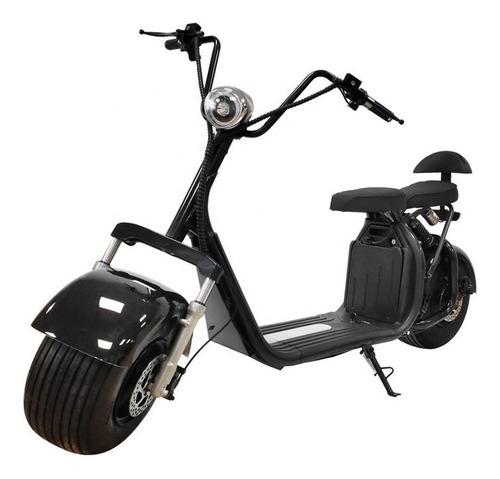 Moto Scooter Eléctrica 1500 W Pie Doble Bluetooth Alarma