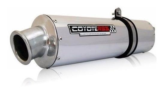 Escape Ponteira Coyote Rs1 Aluminio Honda Cb 500 98/05