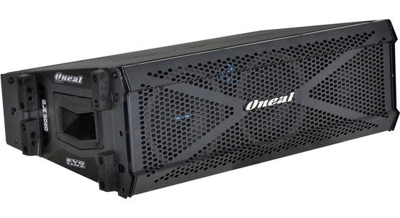 Caixa Acústica Line Array Ativa Oneal Ola-2060 350wrms Preta