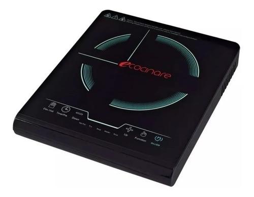 Parrilla eléctrica Ecocinare Cook-01 negra 110V