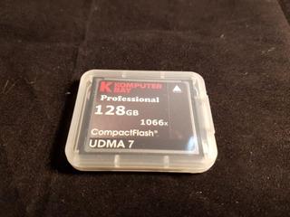 Cartão Cf Komputer Bay 128gb 1066x Udma7 Compact Flash