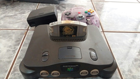 Nintendo 64 Com 1 Fita Controle 90%