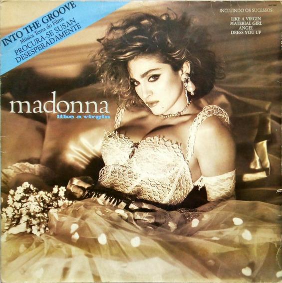 Madonna Lp 1985 Like A Virgin Procura-se Susan 14093