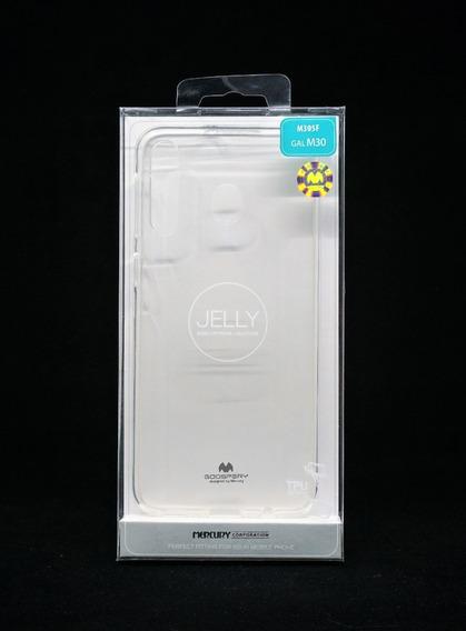 Funda Protector Galaxy M30 Goospery Transparente Jelly Case