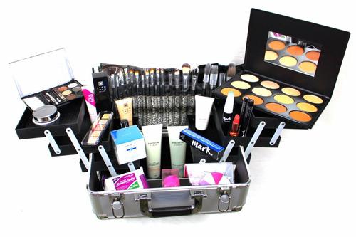 Maleta Kit Maquiagem Profissional Completo Maquiador Luxo