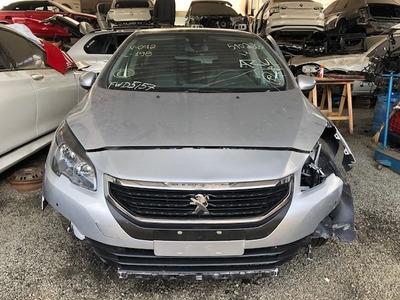 Sucata Peugeot 308 Thp Flex 2018 - Peças