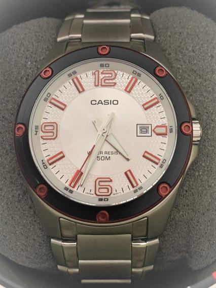 Relógio Casio Wr 50m Aço Inoxidável/original*****