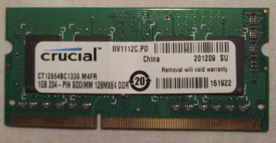 Memoria Ram Ddr3 Para Lapto 1gb Bus 10600