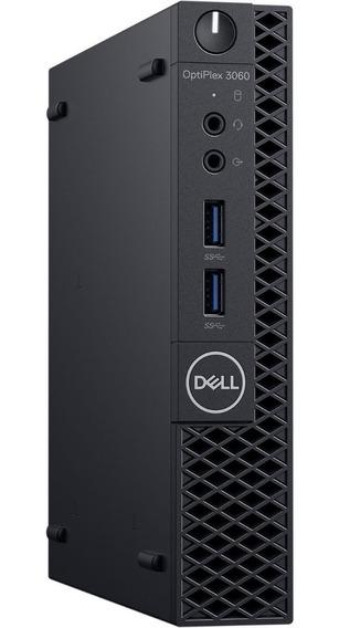 Desktop Dell 3060m I5-8ªger, 8gb, Ssd M.2 256gb + Hd 500gb