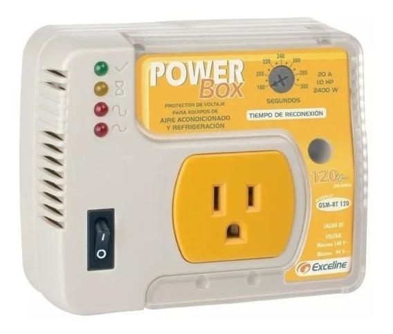 Protector Voltaje 120 Y 220v Nevera A Acondicionado Exceline