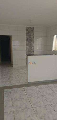 Imagem 1 de 11 de Casa Com 2 Dormitórios À Venda, 65 M² Por R$ 180.000,00 - Jardim Novo Ii - Rio Claro/sp - Ca0551