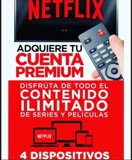 Cuente Neflix | 4 Screens | Full Hd | Garantiza