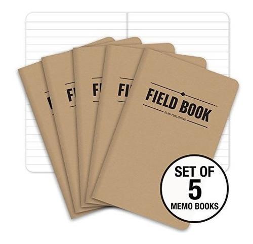 Elan Publishing Cuaderno De Campo Elan-fn-003a, 3.5  X 5.5 ,