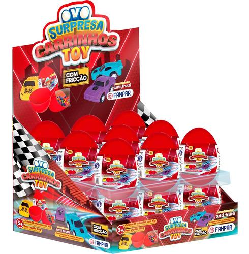 Imagem 1 de 1 de Ovo Surpresa Carrinhos Toy Com 18 Un - Fampar
