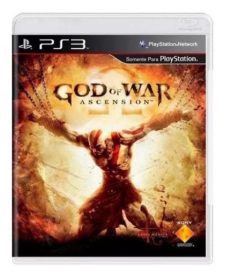 God Of War Ascension Playstation 3 Mídia Fis Em Português Br
