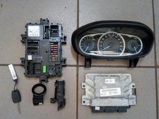 Kit Code Ford Ká 2018 1.8 3cc Completo H3ba-12a650-ha