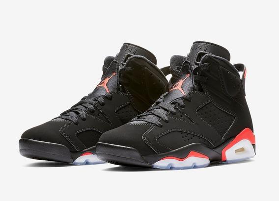 Tenis Nike A Jordan 6 Retro Negro Originales Deportivo