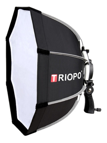 Imagen 1 de 8 de Difusor Triopo Hexa Softbox 90cm C/ Rotula P/ Flash Zapata