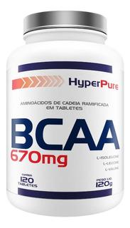 Aminoácido Bcaa 670mg - 120 Tabletes - Promoção