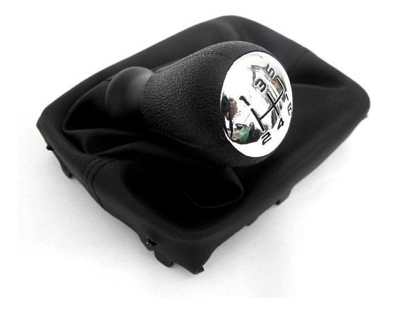 Manopla Bola Alavanca C/ Coifa Proteção Cambio Peugeot 206 207 Primeira Linha