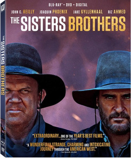 The Sisters Brothers Blu-ray Us Import