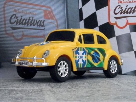 Miniatura Fusca Do Brasil = 22cm