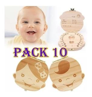 Caja Para Guardar Los Dientes De Bebe / Pack X 10