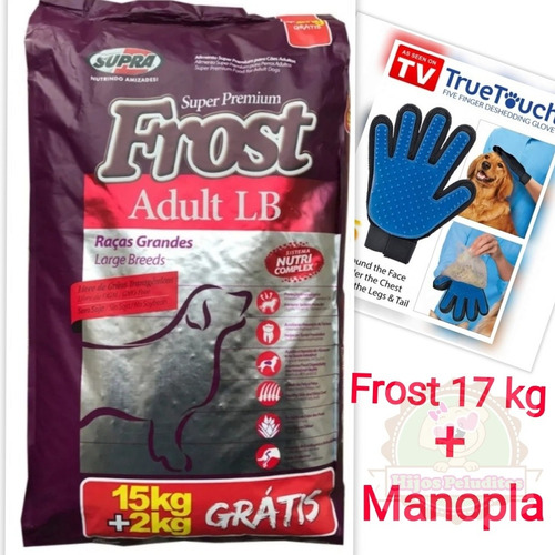 Imagen 1 de 2 de Frost Adulto Lb Razas Grandes 15+2 Kg + Regalo+ Envío!!