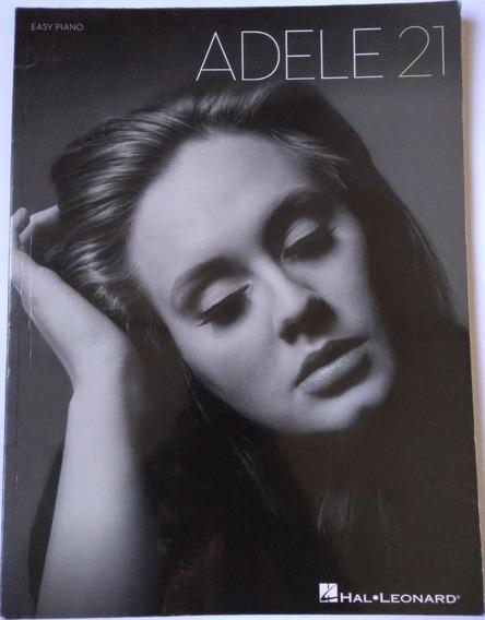 Songbook Adele 21 (hal Leonard - Easy Piano Folios)