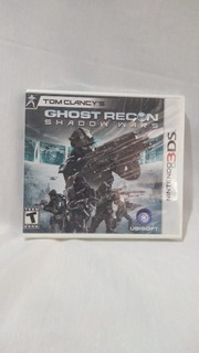 Tom Clancys Ghost Recon Shadow Wars - Nuevo Y Sellado - 3ds