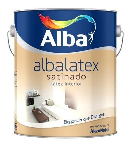 Albalatex Satinado Blanco 20 Lt. Latex Premium Alba Interior