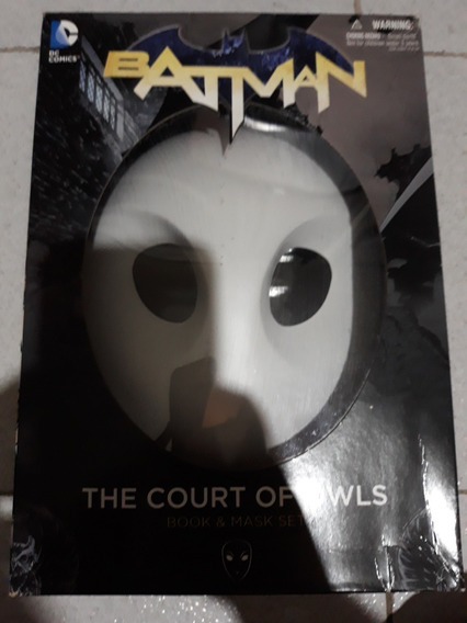 Batman- The Court Of Owls Mask And Book Set