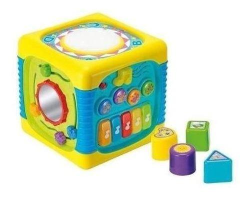Brinquedo Musical Com Sons Luzes Presente Bebê 1 2 +brinde