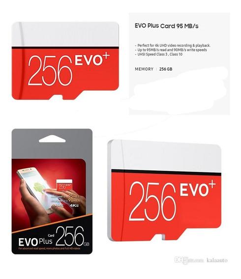 Cartão De Memoria 2019 256gb Evo Plus Micro Sd