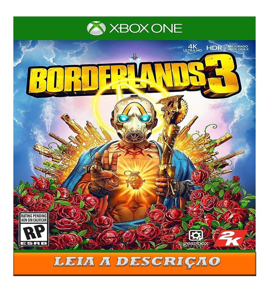 Borderlands 3 Edição Superdeluxe X Box One
