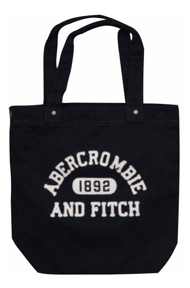 Bolsa Abercrombie & Fitch Logo Bordada 100% Original
