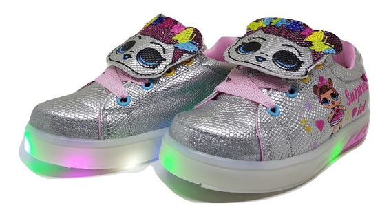 Zapatillas Lol Surprise Nenas/niñas Con Luces Led Del 22-32