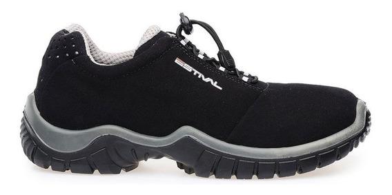 Sapato Segurança Preto/cinza Energy Estival En1002 Curto