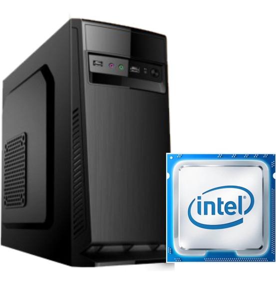 Computador Intel Pentium G4560 H110m Ram 4gb Ssd 120gb 200w