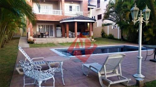 Casa Com 4 Dormitórios À Venda, 600 M² Por R$ 2.900.000,00 - Alphaville! - Ca1276