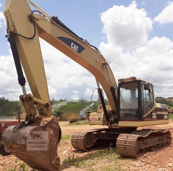 Escavadeira Caterpillar 320b L - Ano 2000 - Cabinada