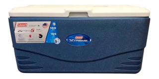 Caixa Térmica 94,6 Litros 100 Qt Coleman Azul